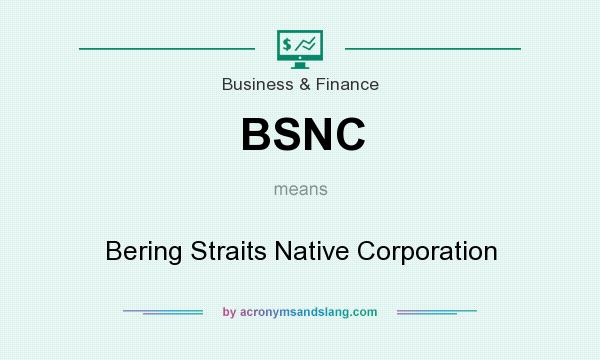 BSNC - Bering Straits Native Corporation in Business & Finance by ...