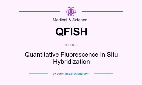 What does QFISH mean? It stands for Quantitative Fluorescence in Situ Hybridization
