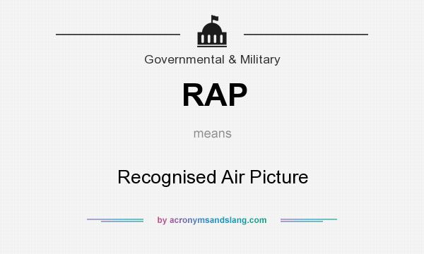 What does RAP mean? It stands for Recognised Air Picture