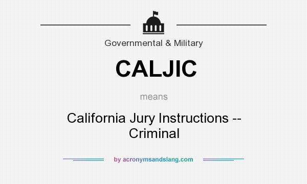 What Does Caljic Mean Definition Of Caljic Caljic Stands For