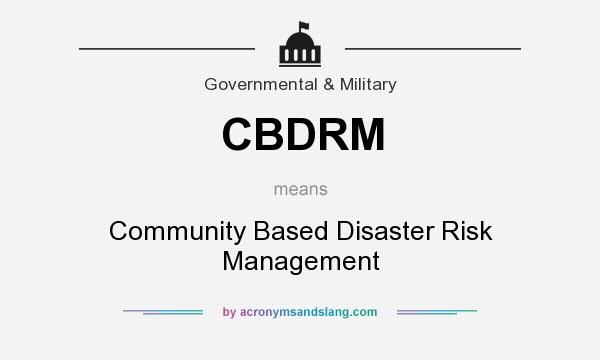 community based disaster risk management Community based disaster risk management translate with translator this translation tool is powered by google fao is not responsible for the accuracy of.
