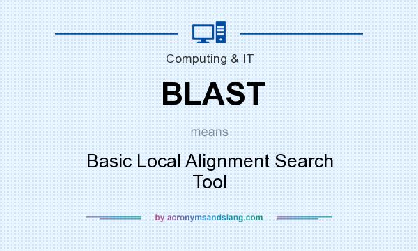 What does BLAST mean? It stands for Basic Local Alignment Search Tool