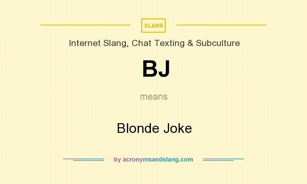 mean blonde jokes