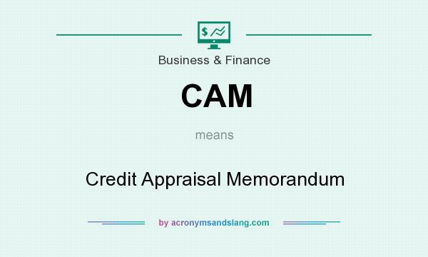 What does CAM mean? It stands for Credit Appraisal Memorandum