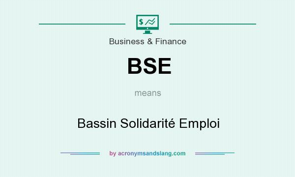 What does BSE mean? It stands for Bassin Solidarité Emploi