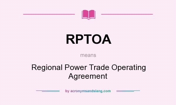 What does RPTOA mean? - Definition of RPTOA - RPTOA stands for ...