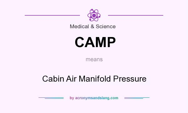 What does CAMP mean? It stands for Cabin Air Manifold Pressure