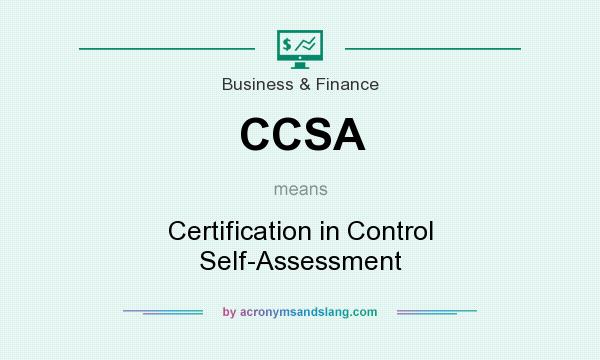 CCSA - Certification in Control Self-Assessment in Business ...