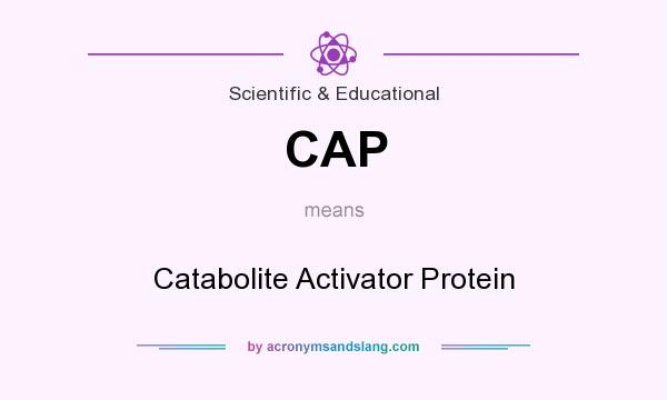 What does CAP mean? It stands for Catabolite Activator Protein