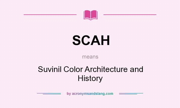Scah suvinil color architecture and history in undefined for What does architecture mean