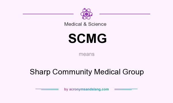 Scmg Sharp Community Medical Group In Medical Science By