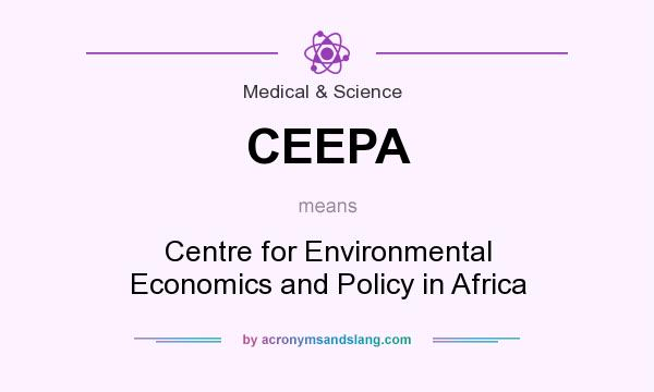 What does CEEPA mean? It stands for Centre for Environmental Economics and Policy in Africa