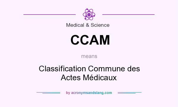 actes médicaux ccam
