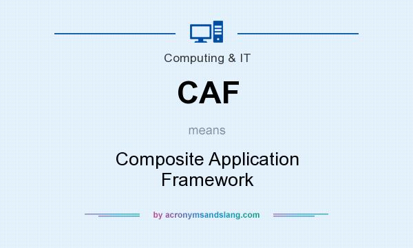 What does CAF mean? It stands for Composite Application Framework