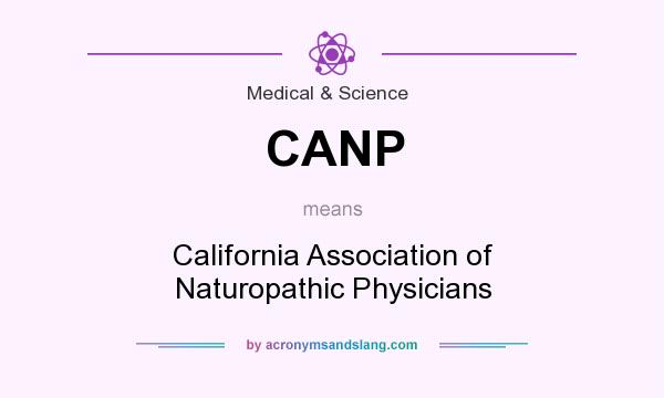 What does CANP mean? It stands for California Association of Naturopathic Physicians