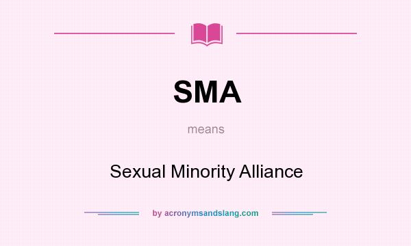 Smaac sexual minority alliance of alameda county