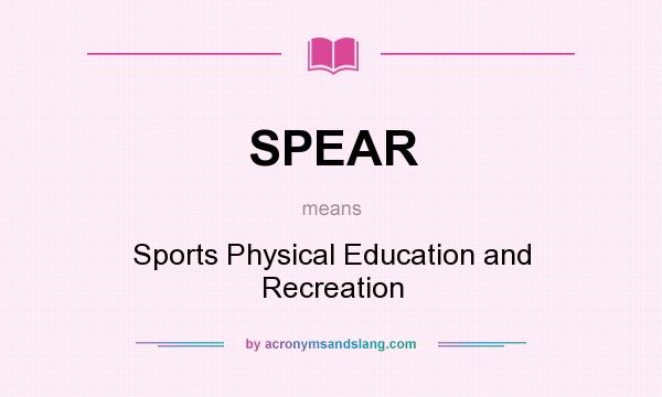 the sport and recreation environment physical education essay We offer course work leading to a master of science degree in recreation, event and sport management while pursuing your degree, you examine the theoretical approaches to the study of recreation, sport and leisure, and research methods for conducting scientific studies.