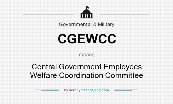 summary cgewho central government employees welfare housing