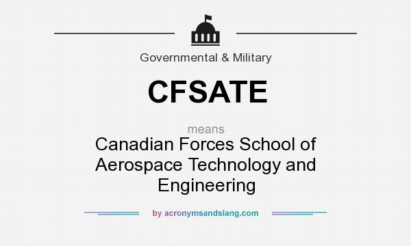 cfsate  definition  cfsate cfsate stands  canadian forces school