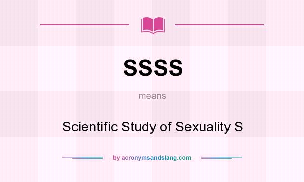 What does sexuality mean