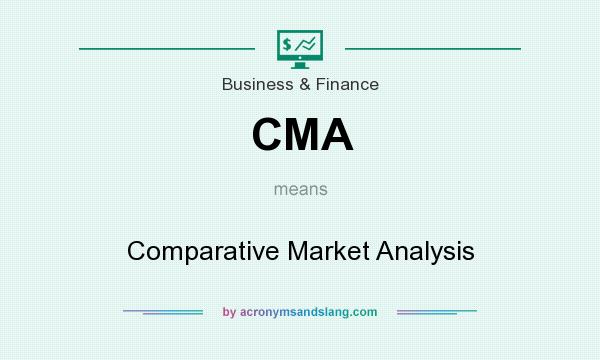 What does CMA mean? It stands for Comparative Market Analysis