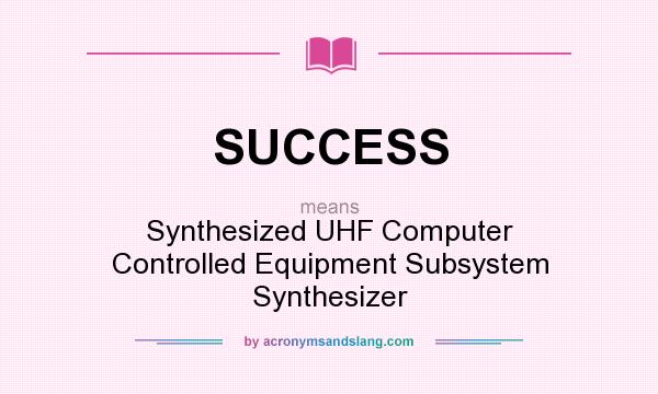 what does synthesising