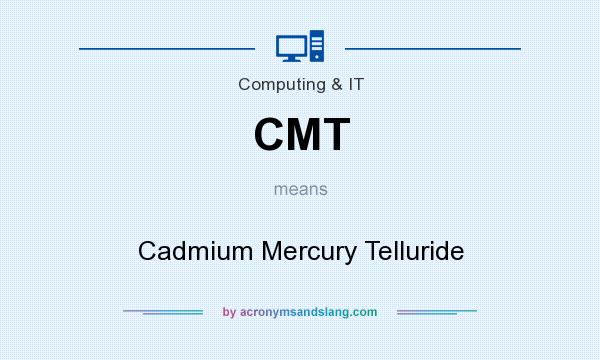 What does CMT mean? It stands for Cadmium Mercury Telluride