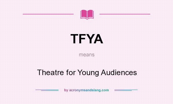 what is theatre for