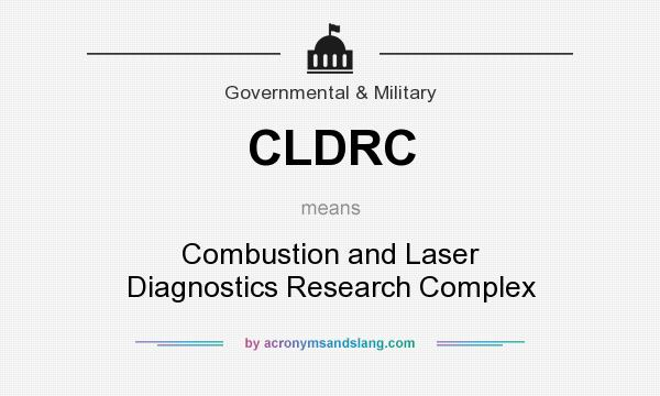 What does CLDRC mean? It stands for Combustion and Laser Diagnostics Research Complex