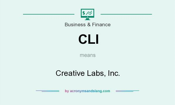 What does CLI mean? It stands for Creative Labs, Inc.