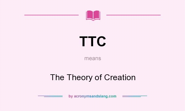 a view on the theory of creationism