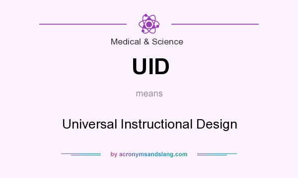 Uid Universal Instructional Design By Acronymsandslang Com