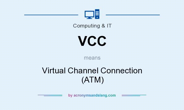 What does VCC mean? It stands for Virtual Channel Connection (ATM)