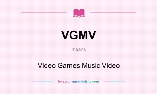 What does VGMV mean? - Definition of VGMV - VGMV stands for