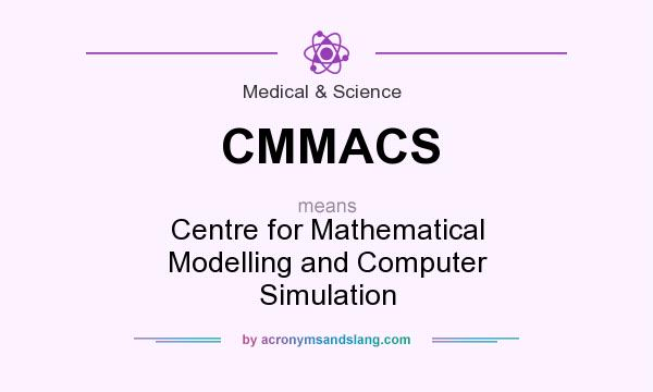 What does CMMACS mean? It stands for Centre for Mathematical Modelling and Computer Simulation