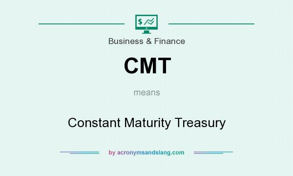 What does CMT mean? It stands for Constant Maturity Treasury