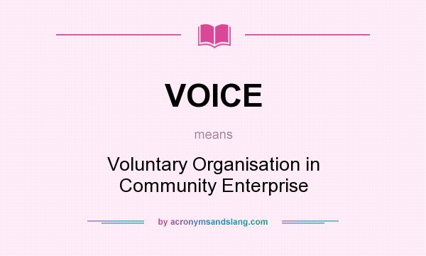 role of voluntary organizations in community As an integral part of community development in northern ireland role to play in supporting community in the community and voluntary sector.