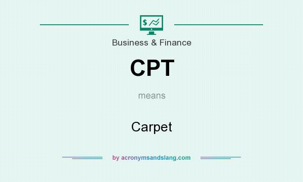 What does CPT mean? It stands for Carpet