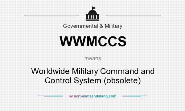 What does WWMCCS mean? It stands for Worldwide Military Command and Control System (obsolete)