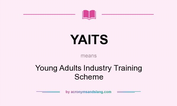 What does YAITS mean? It stands for Young Adults Industry Training Scheme