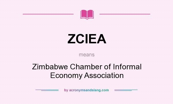 What does ZCIEA mean? It stands for Zimbabwe Chamber of Informal Economy Association