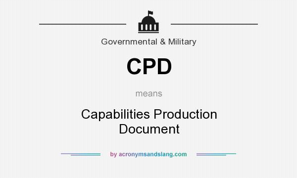 what does cpd stand for