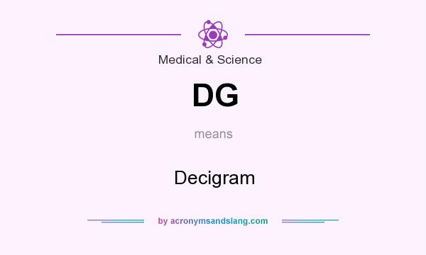 dg decigram in medical science by acronymsandslang com