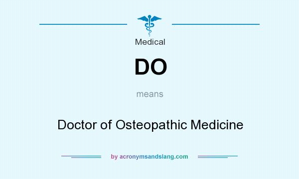 Doctor abbreviation do