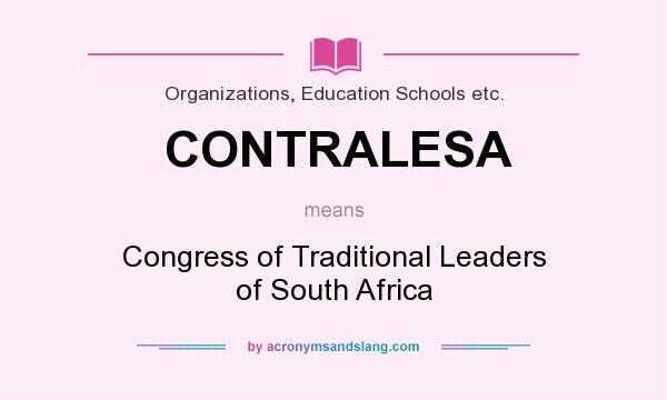 What Does Contralesa Mean Definition Of Contralesa