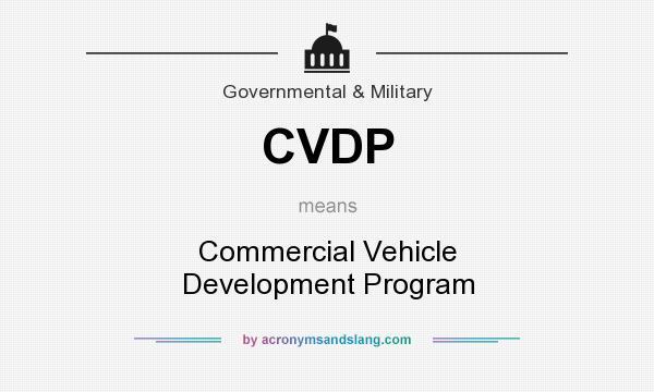 cvdp success story
