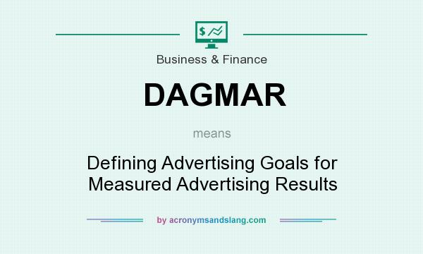 What does DAGMAR mean? It stands for Defining Advertising Goals for Measured Advertising Results