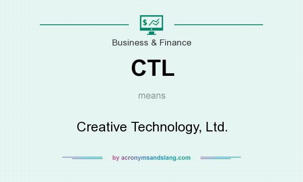 What does CTL mean? It stands for Creative Technology, Ltd.