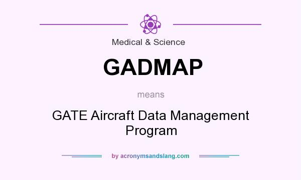 What does GADMAP mean? It stands for GATE Aircraft Data Management Program