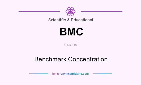 What does BMC mean? It stands for Benchmark Concentration